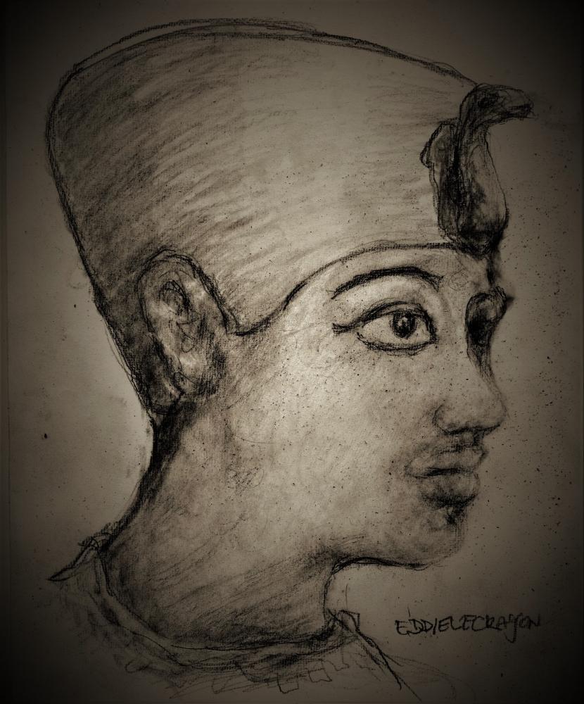Tutankhamun by EddieLeCrayon